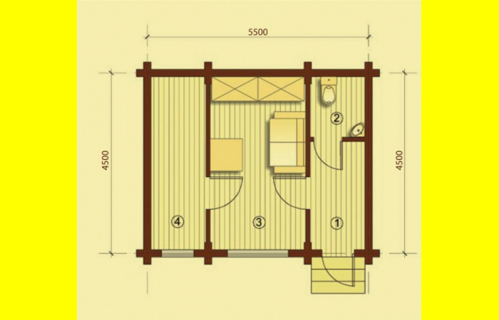Охранный дом 3